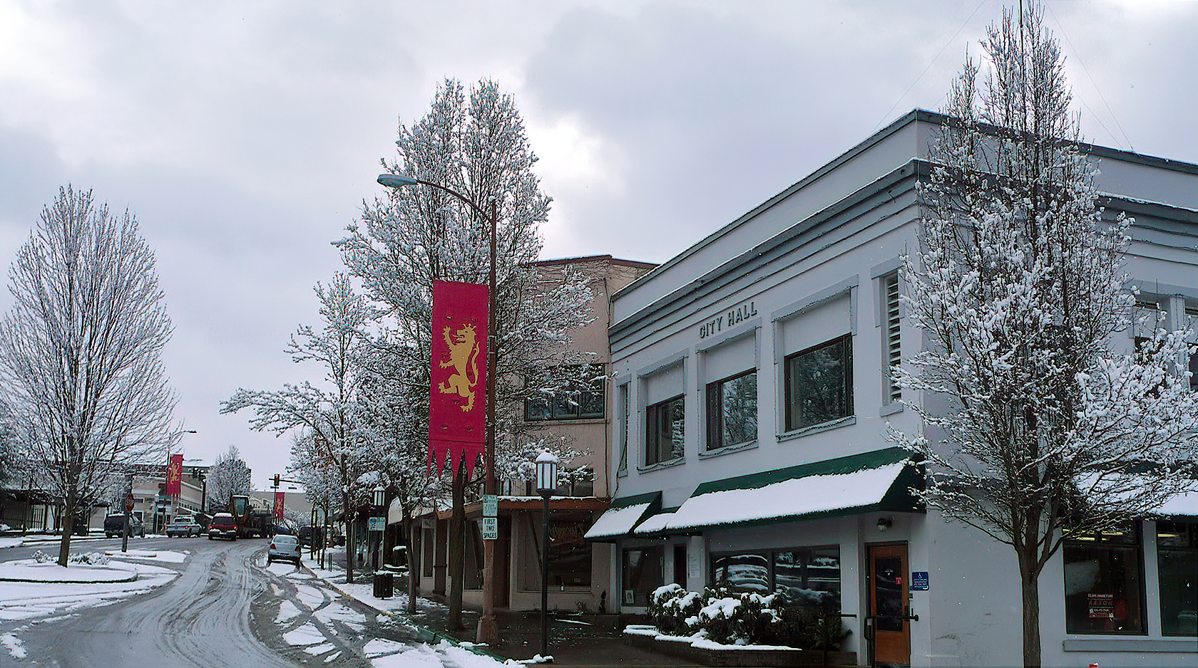 ashland old city hall snow topaz ai denoise