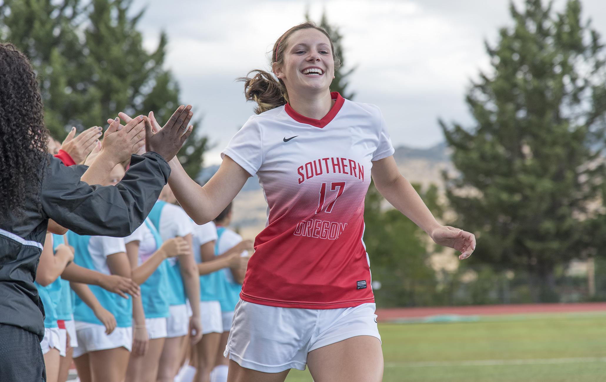SOU women's soccer Avery Dutton