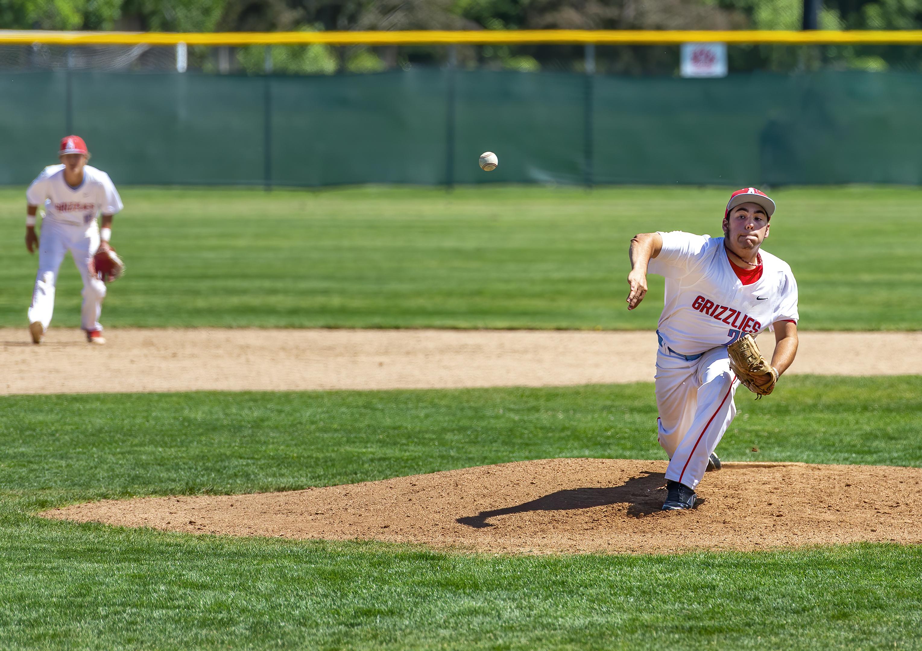 Ashland High School Baseball Tommy Hulick topaz ai denoise