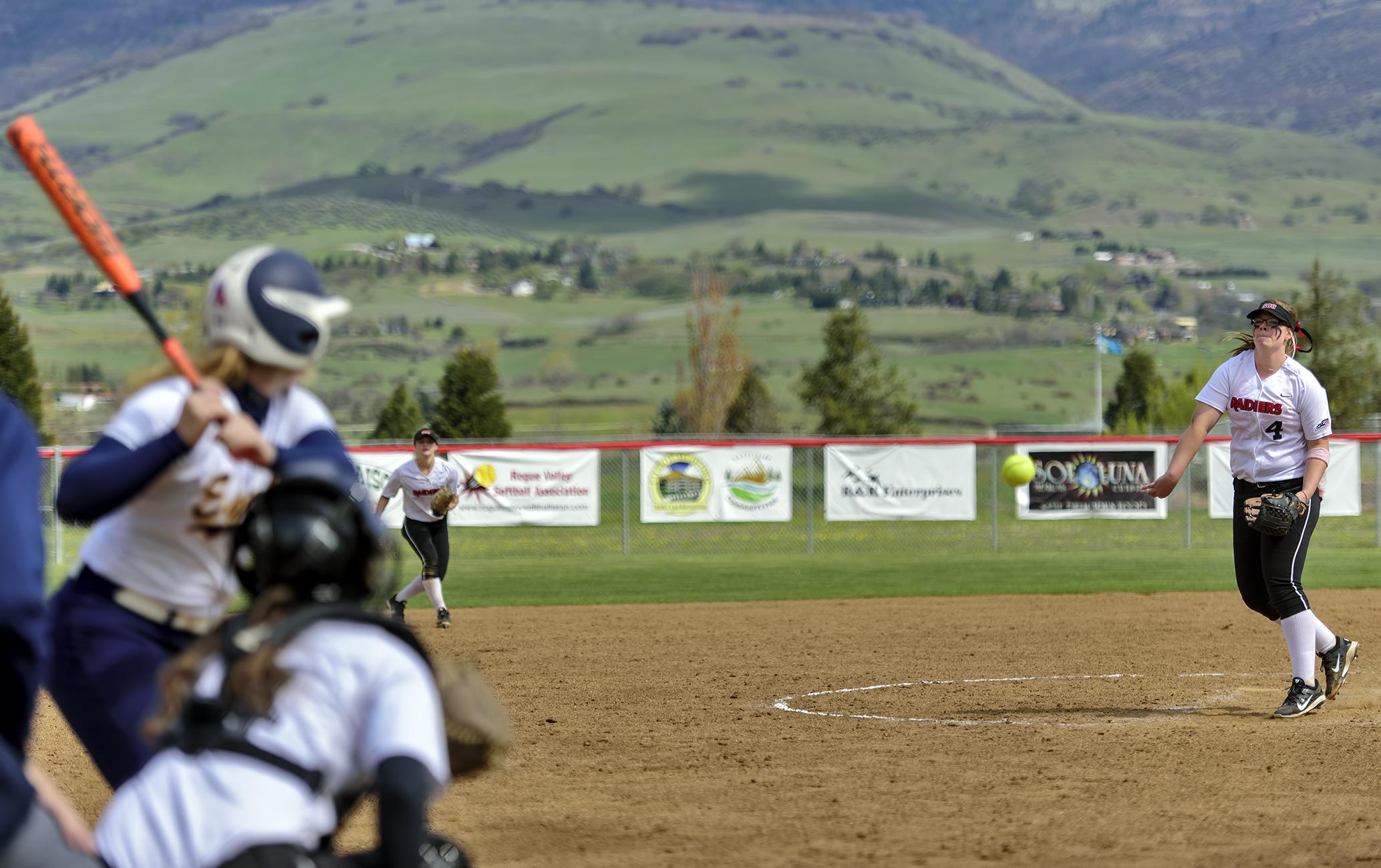 SOU softball Brianne Craig