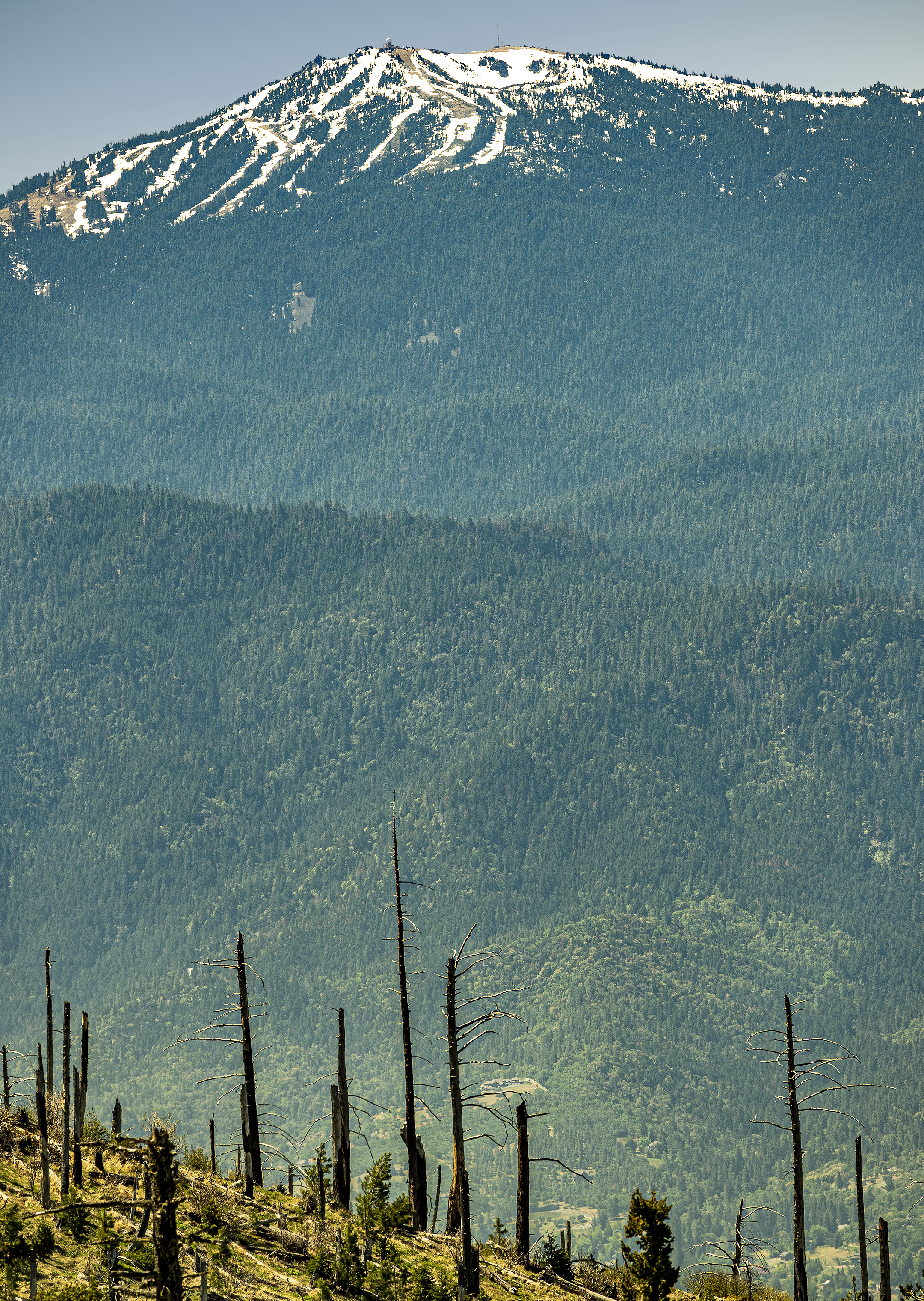 mt ashland from grizzly peak