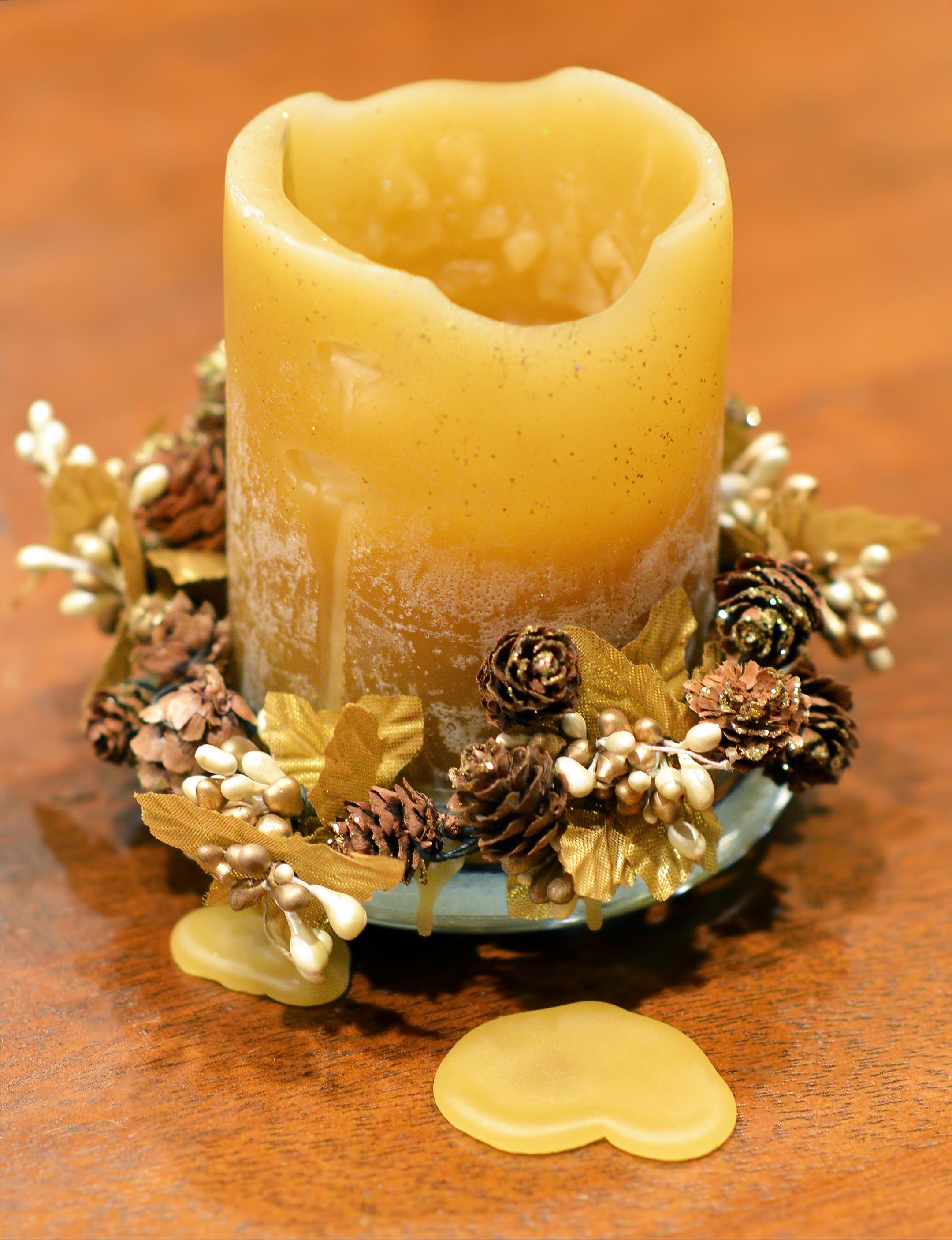 candle heart wax-standard