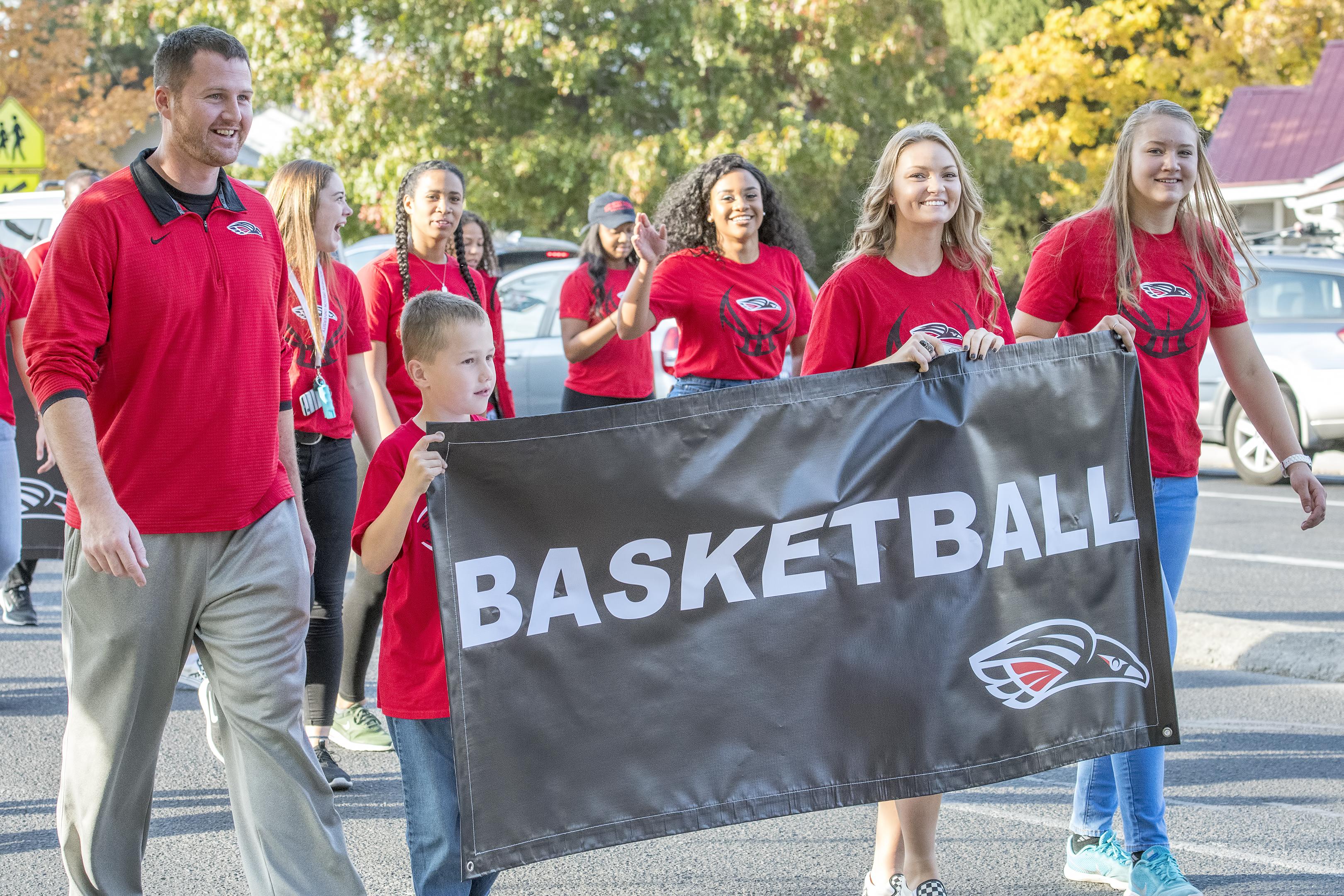 sou homecoming parade womens basketball