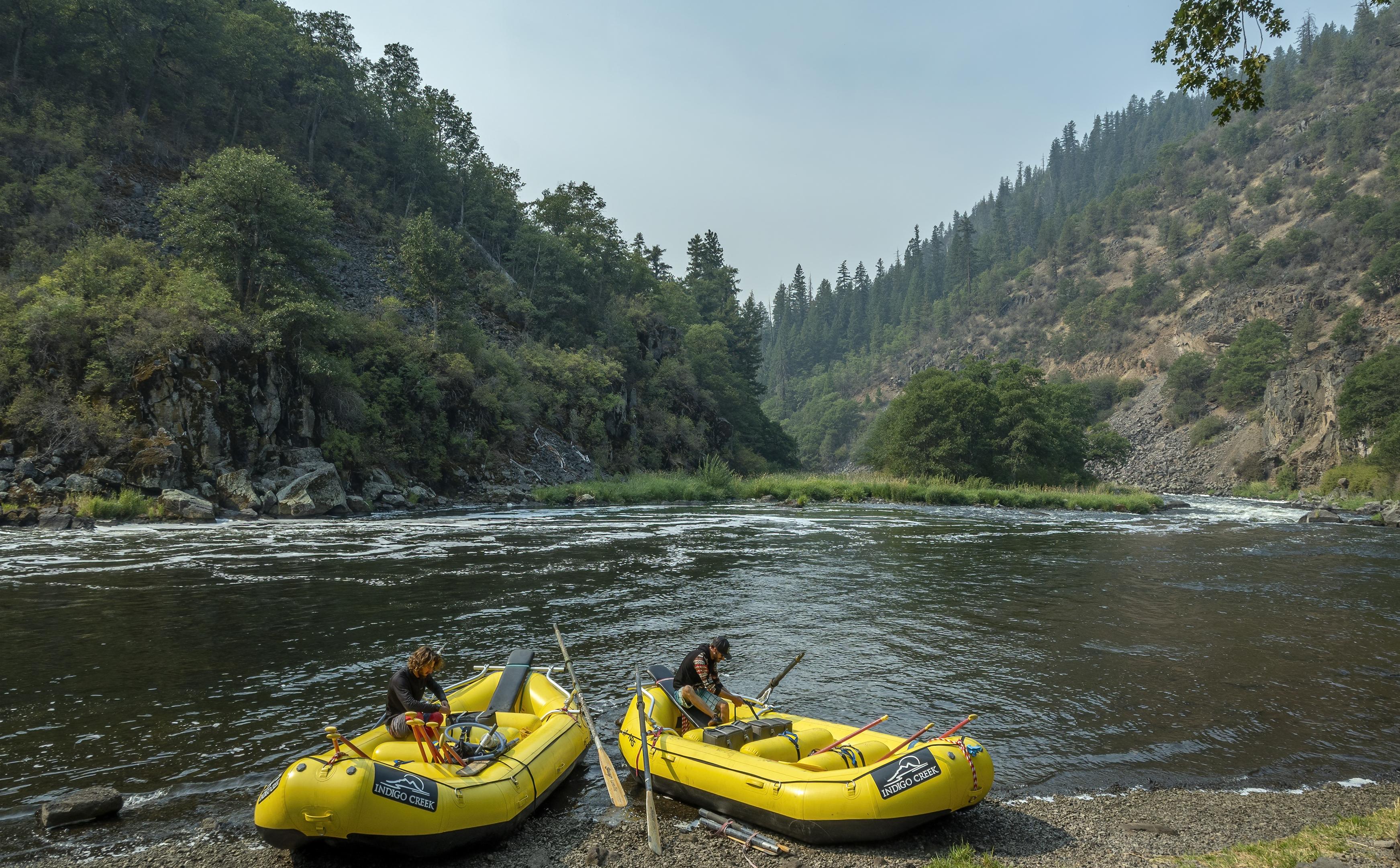 upper klamath river indigo creek daniel ian topaz denoise ai-standard