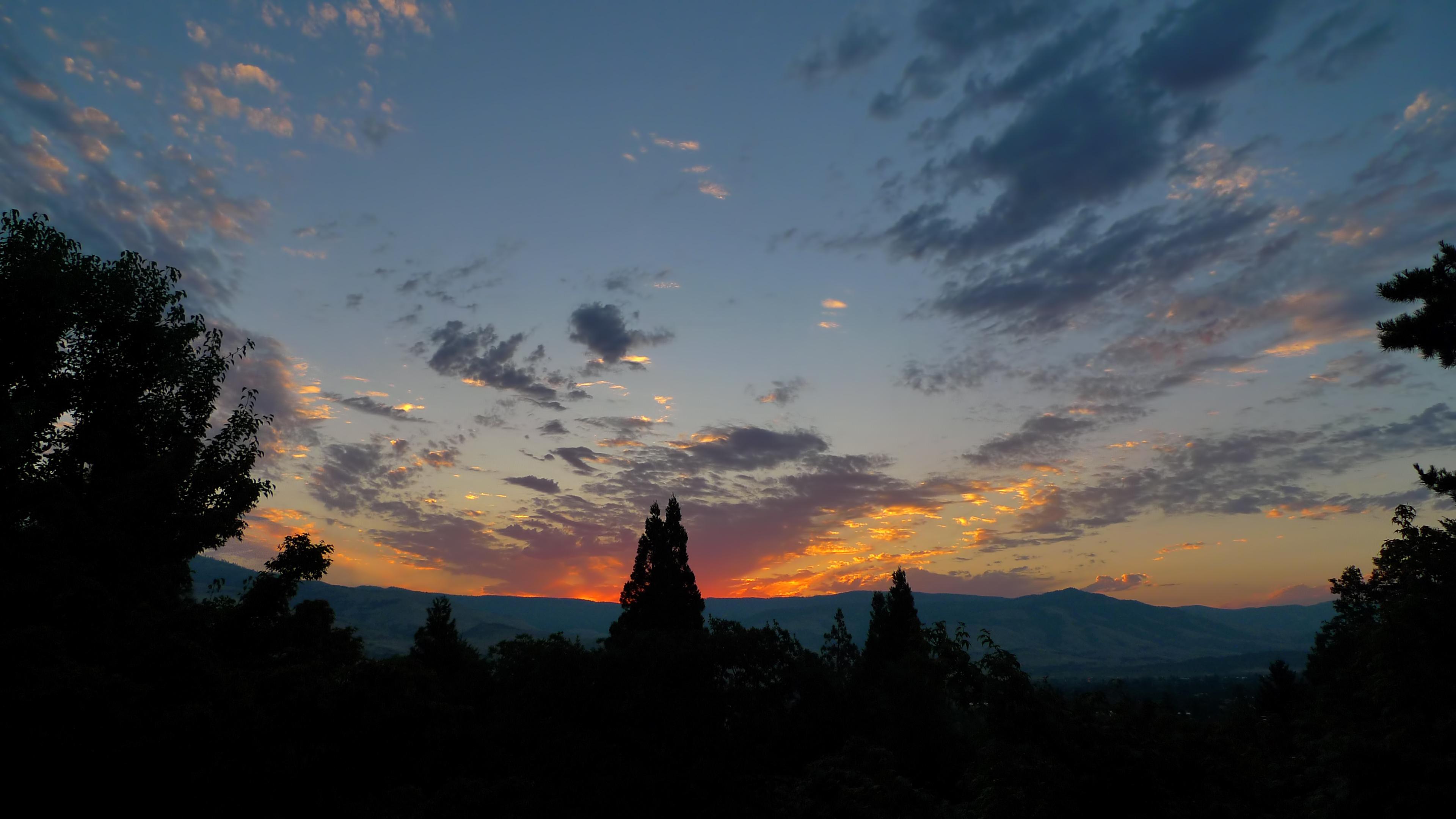 ashland oregon sunrise