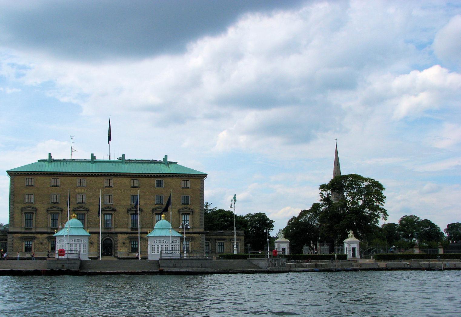 Near Amalienborg Palace