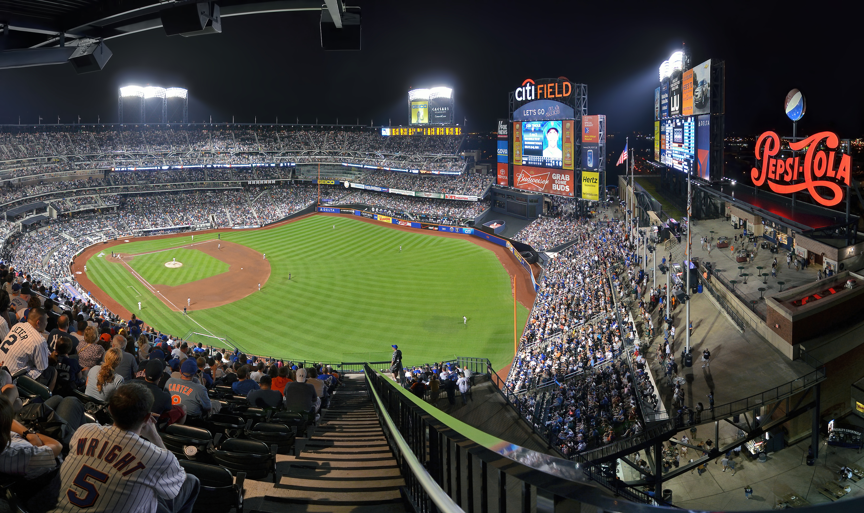 five photo photomerge citi field new york mets topaz denoise ai-denoise