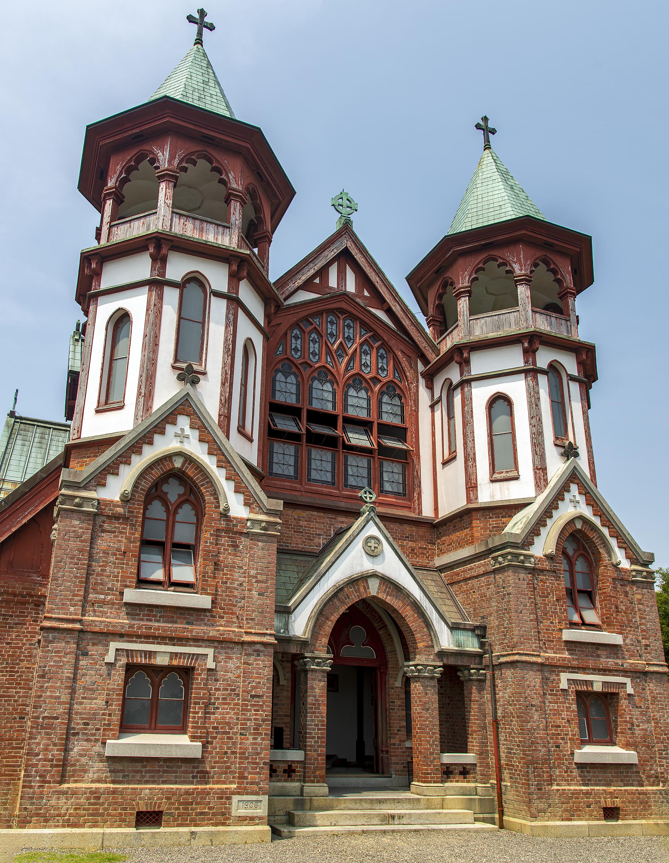 Meiji Mura St Johns Church 聖ヨハネ教会堂 from Kyoto