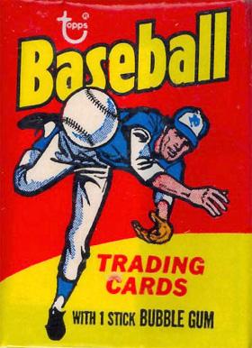 75 topps mini baseball cards pack wrapper