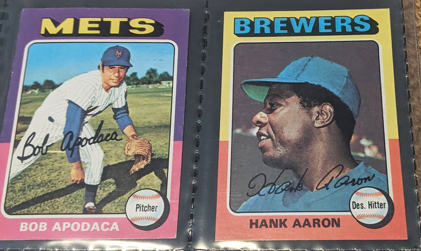 1975 Topps Mini Hank Aaron #660