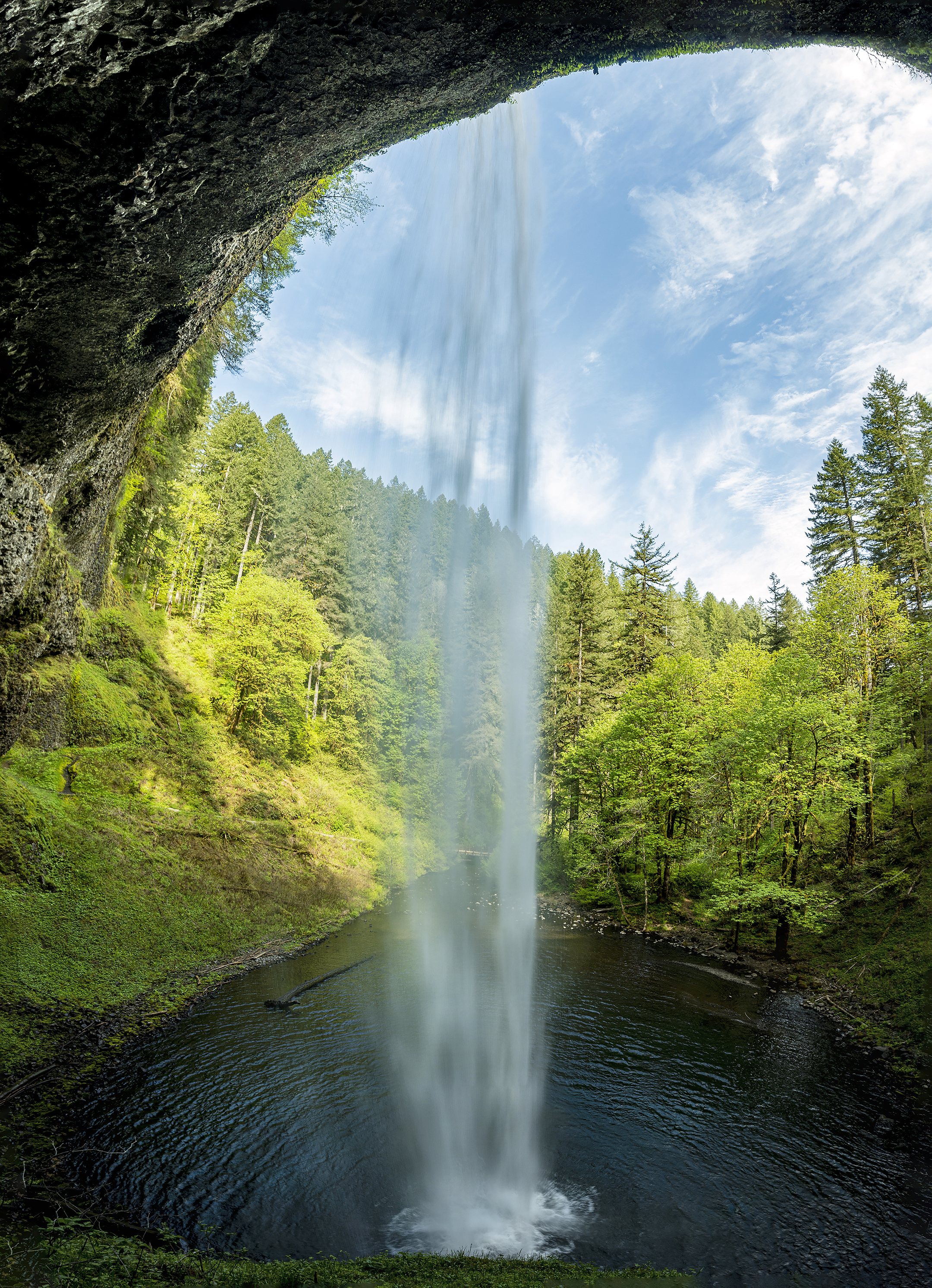 5-photo photomerge silver falls state park behind south falls