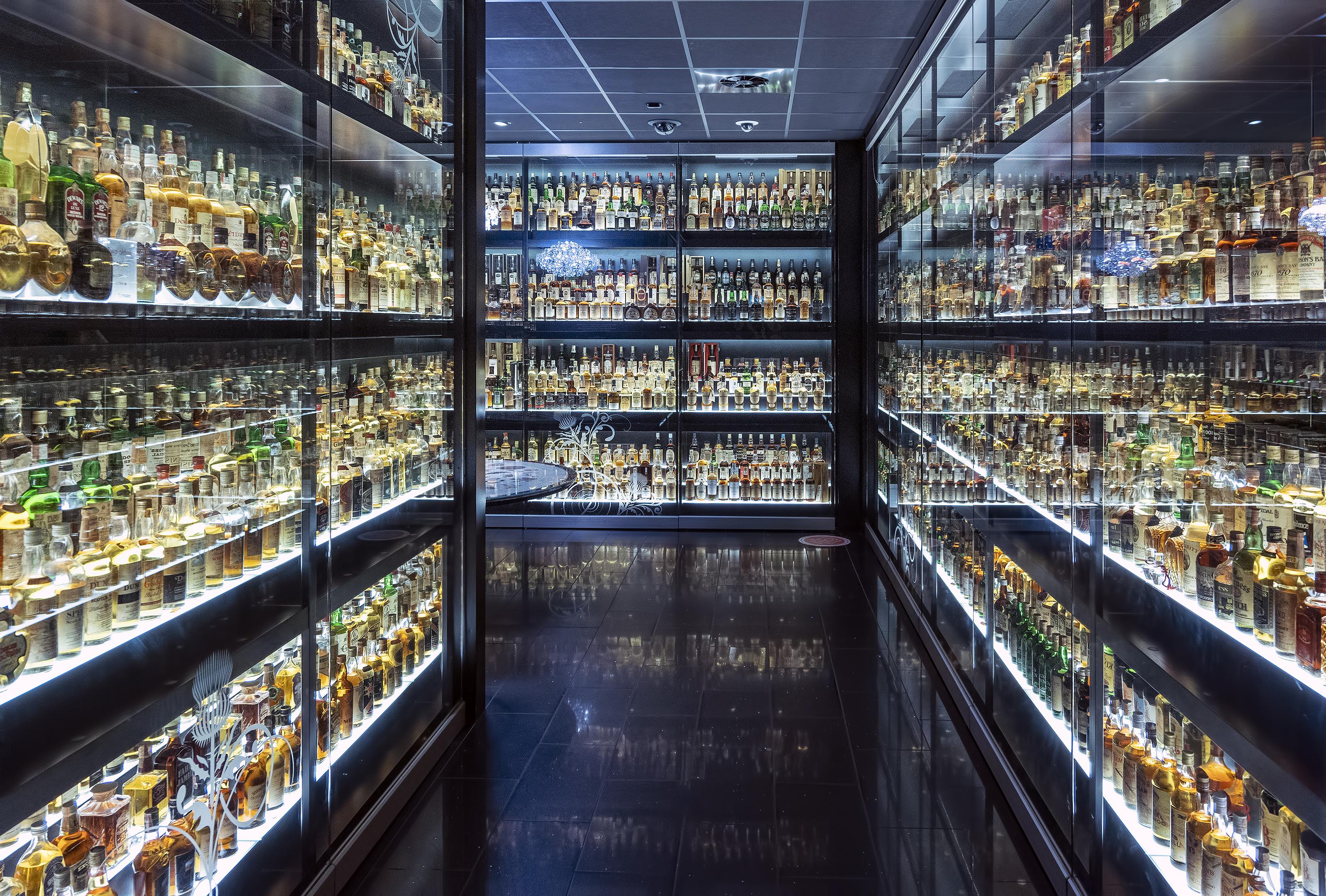 The Scotch Whisky Experience edinburgh scotland collection
