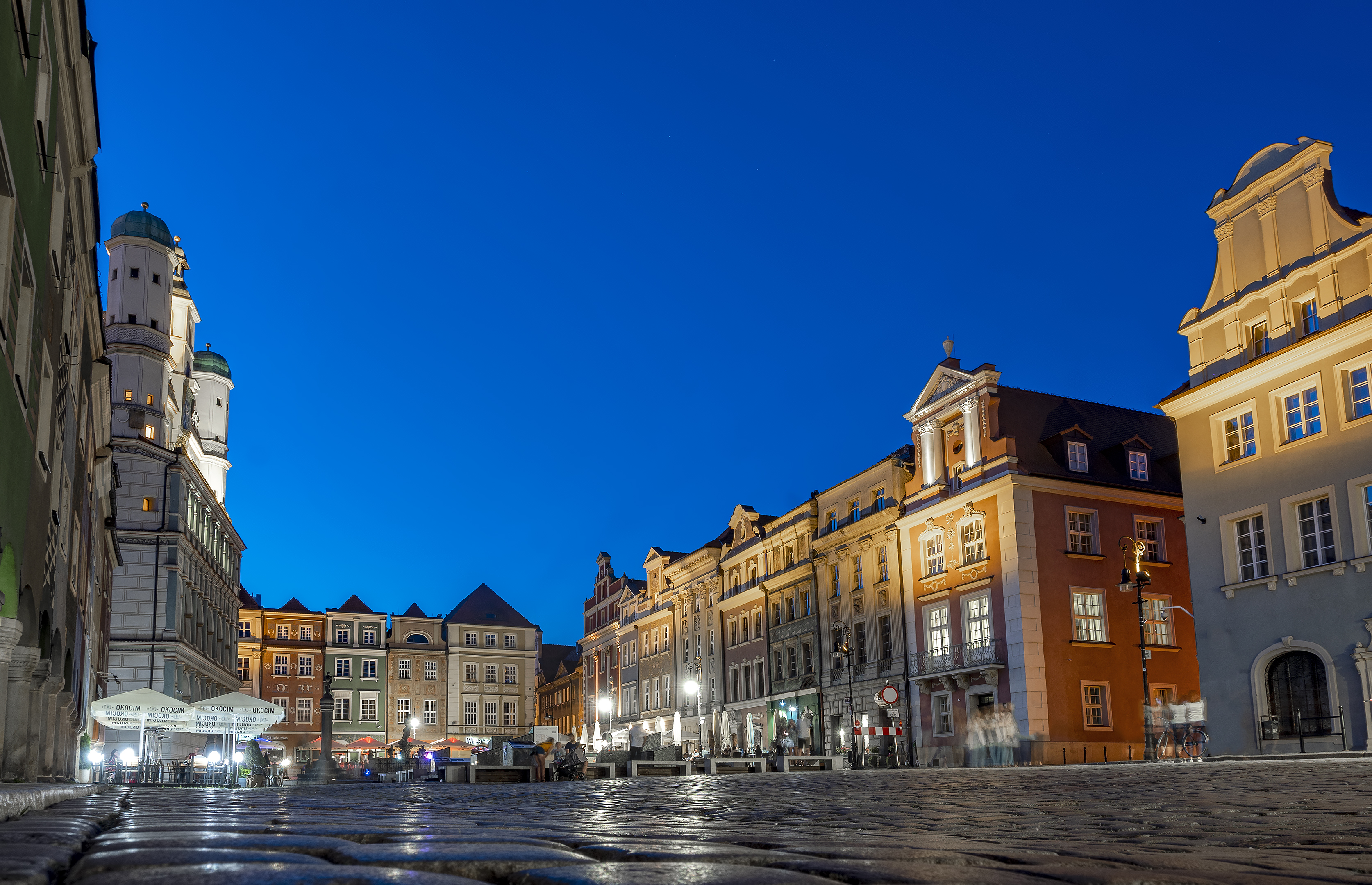 poznan poland old town square
