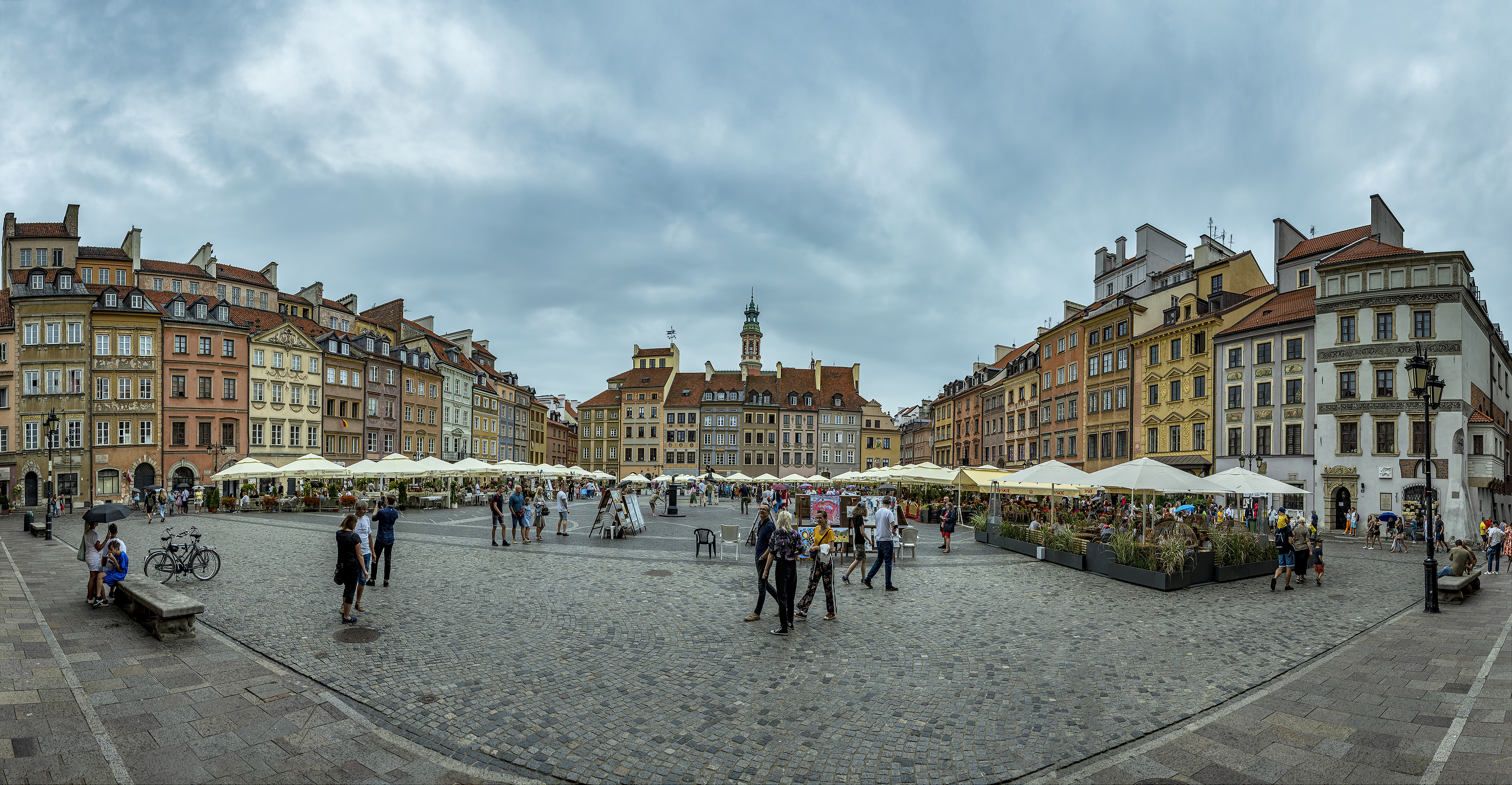 11 photo photomerge warsaw old town square