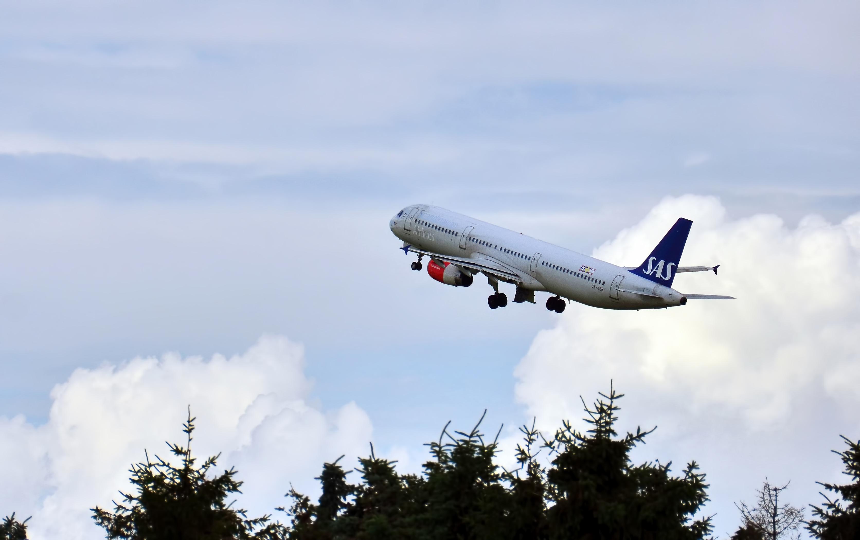 SAS airplane cph