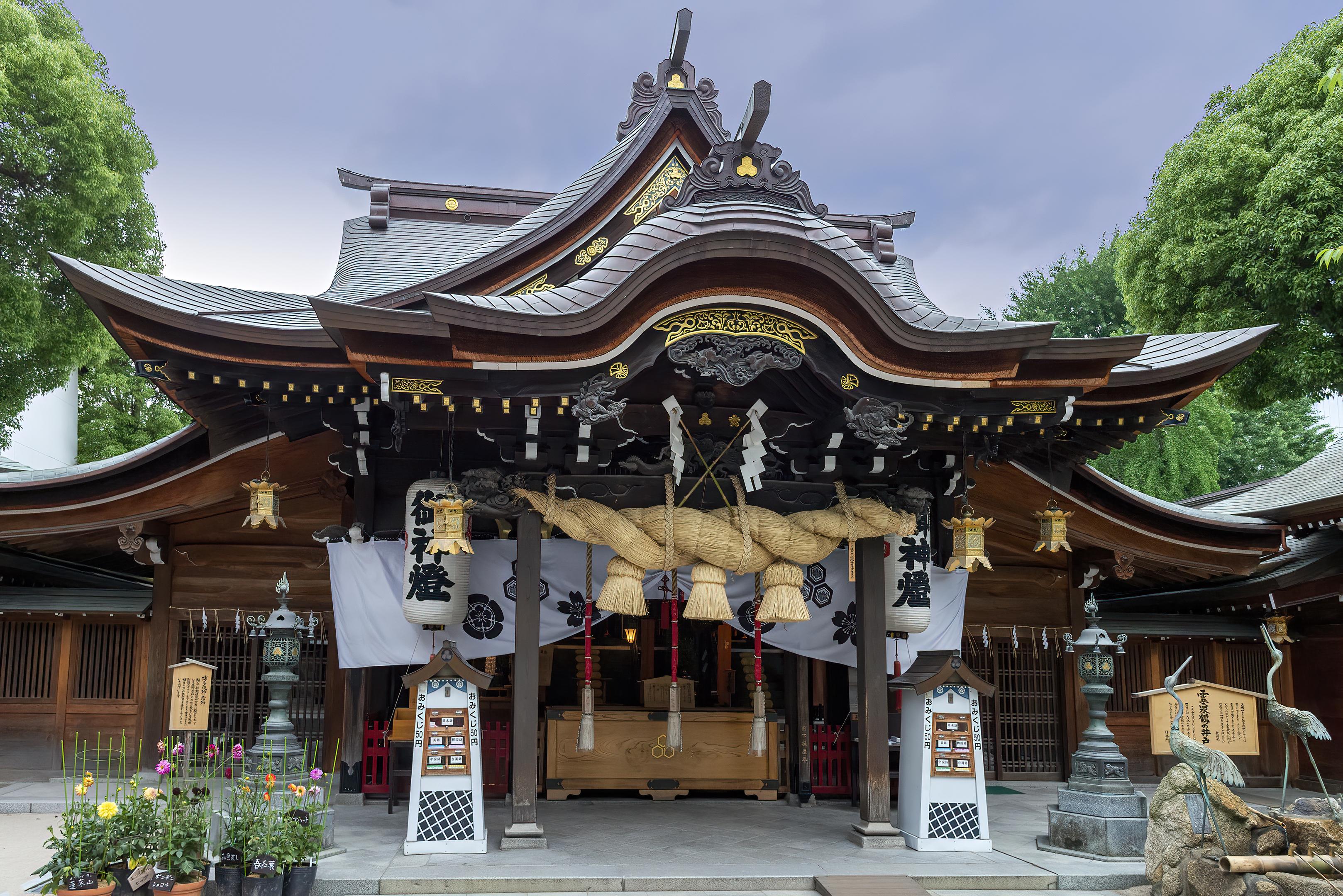 Kushida-jinja 櫛田神社 fukuoka topaz denoise ai-clear
