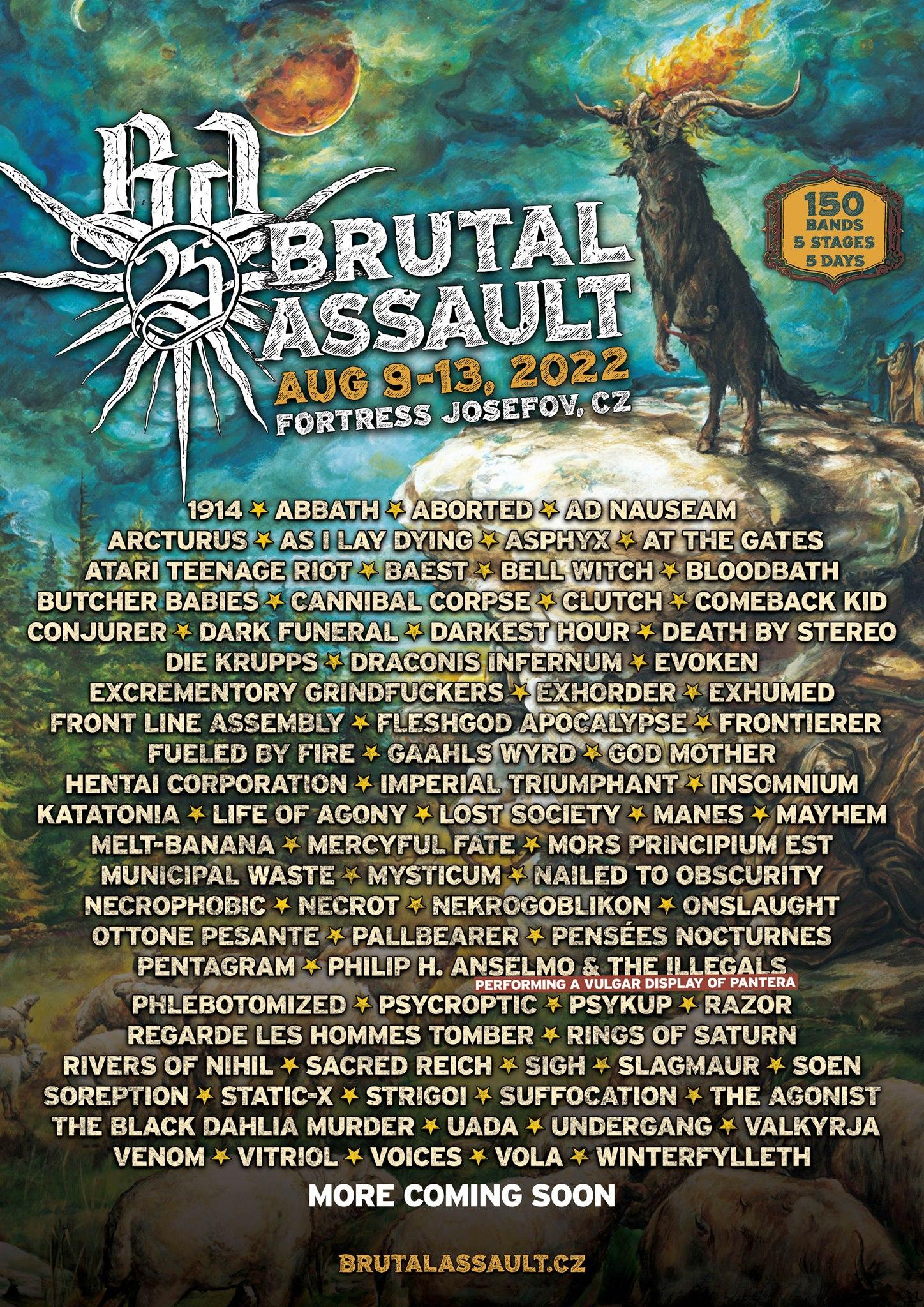 2022 brutal assault festival
